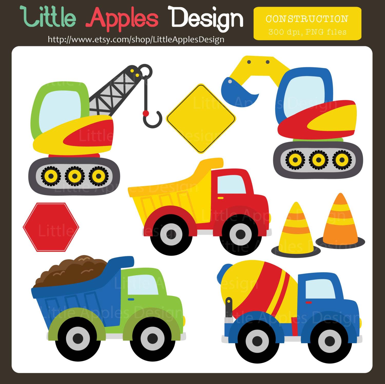 Construction truck clip art.