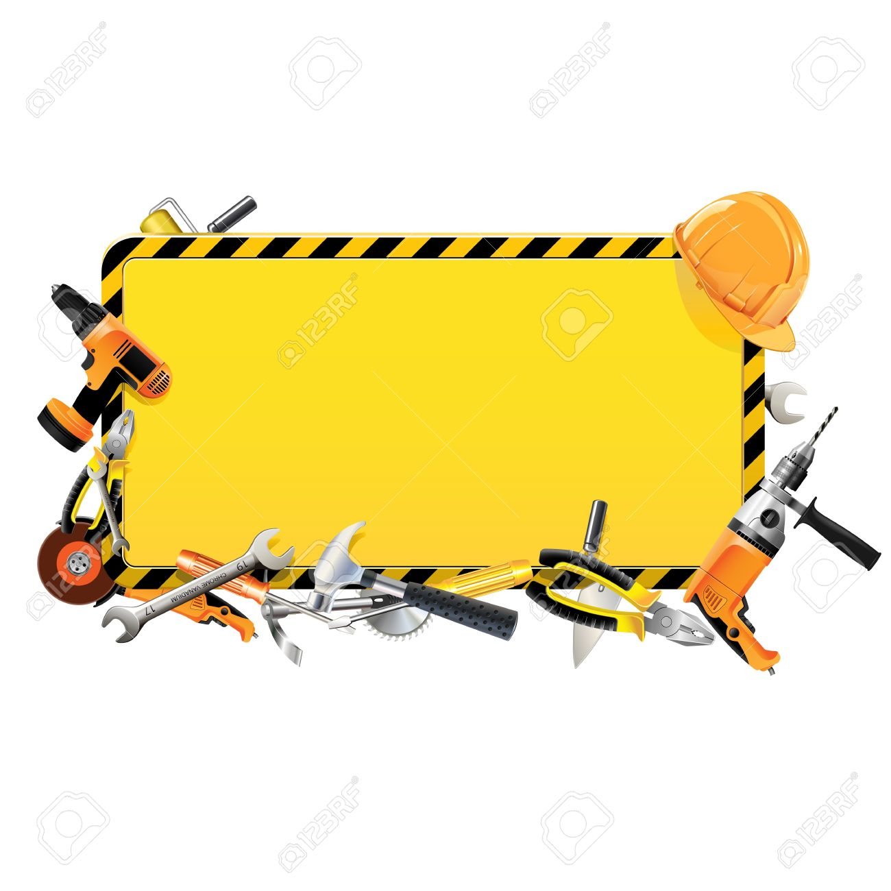 Construction Tool Clipart.