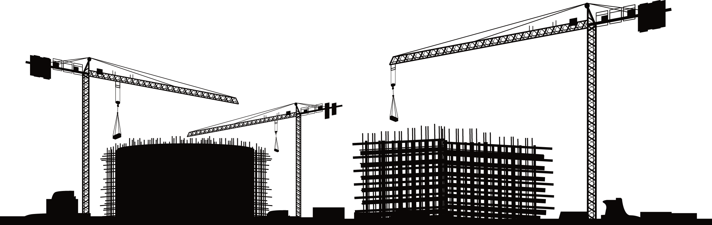 Construction Vector graphics Building Clip art Silhouette.