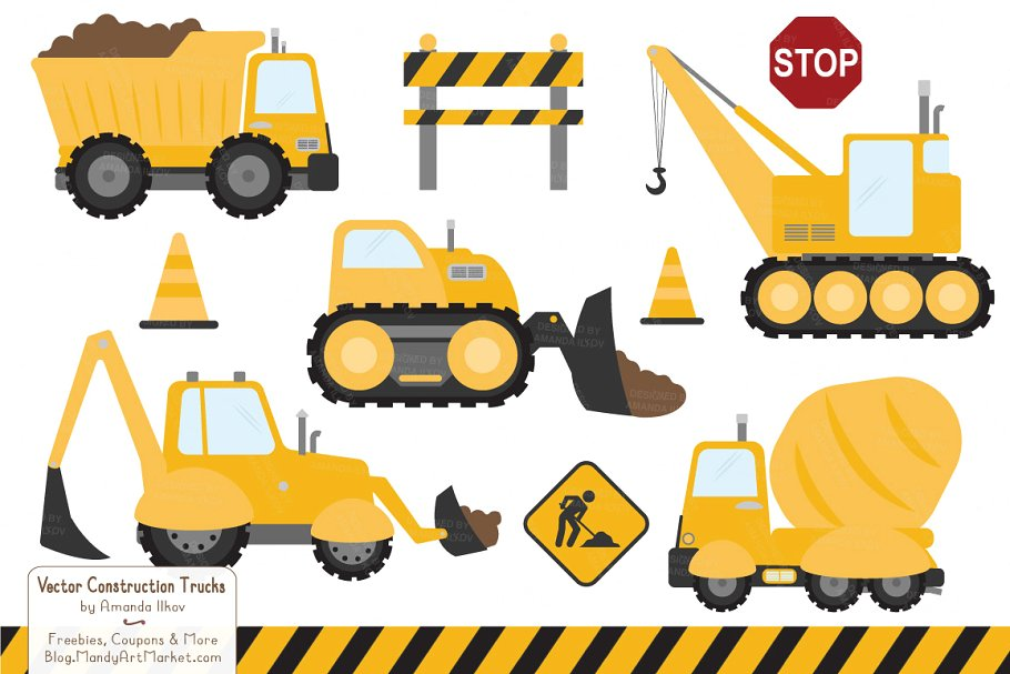 Sunshine Construction Trucks.
