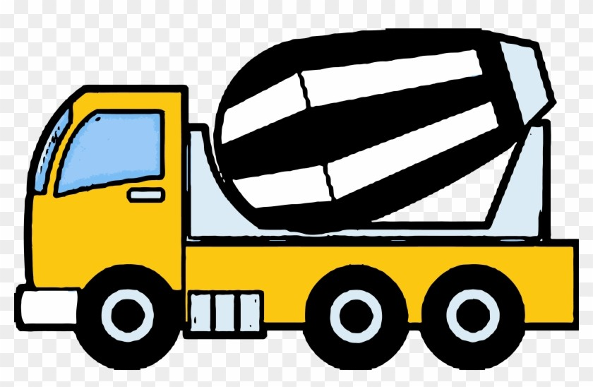 159 1595165 Cement Truck Construction Clipart Png On.