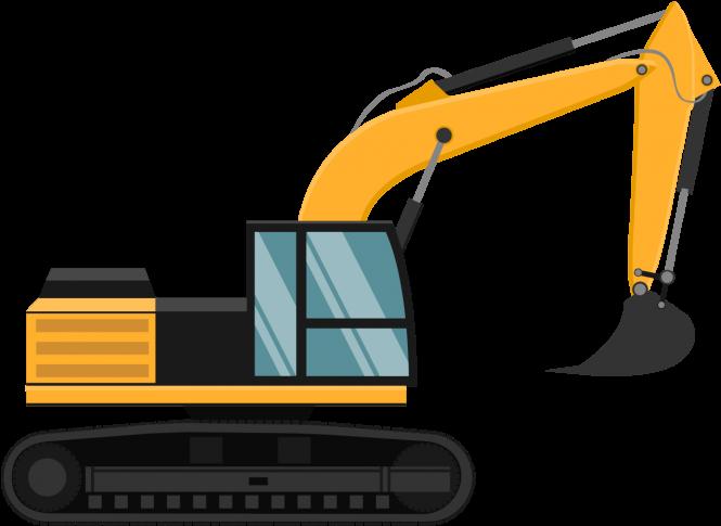 HD Crane Clipart Machinery Png.