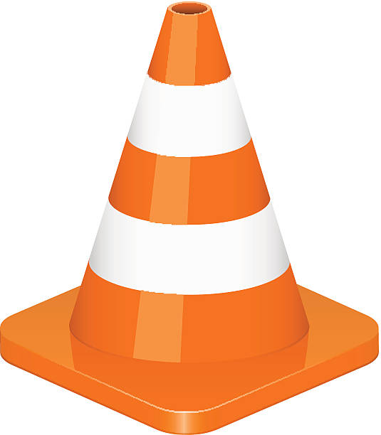 Best Traffic Cone Illustrations, Royalty.