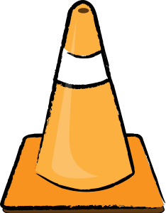 Construction Cone Clipart.