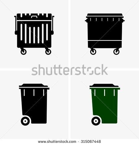Dumpster Stock Photos, Royalty.
