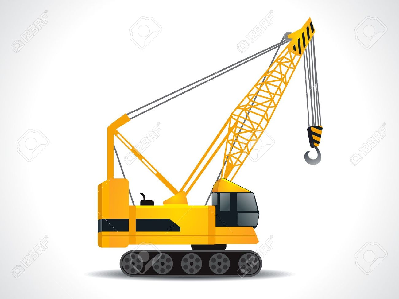 Detailed Crane Vector Illustration Royalty Free Cliparts, Vectors.