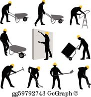 Construction Workers Clip Art.