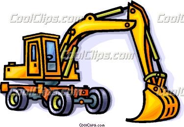 Construction Equipment Clip Art.