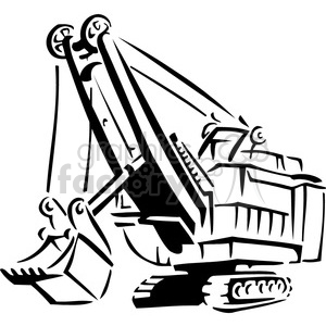 heavy equipment clipart.