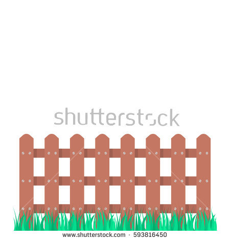 Old Fence Post Stock Vectors, Images & Vector Art.