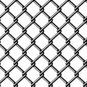 Clipart of Chainlink fence. Seamless. k6259785.