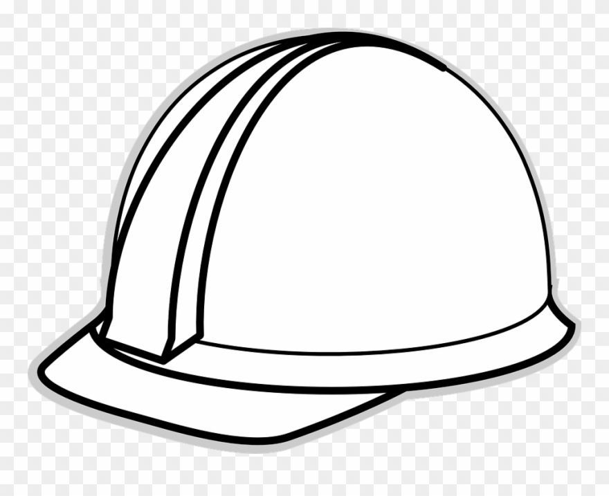 Helmet Clipart Construction Worker.
