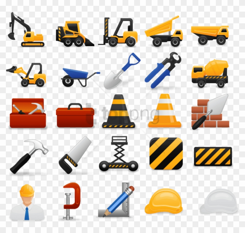 Free Png Construction Icons.