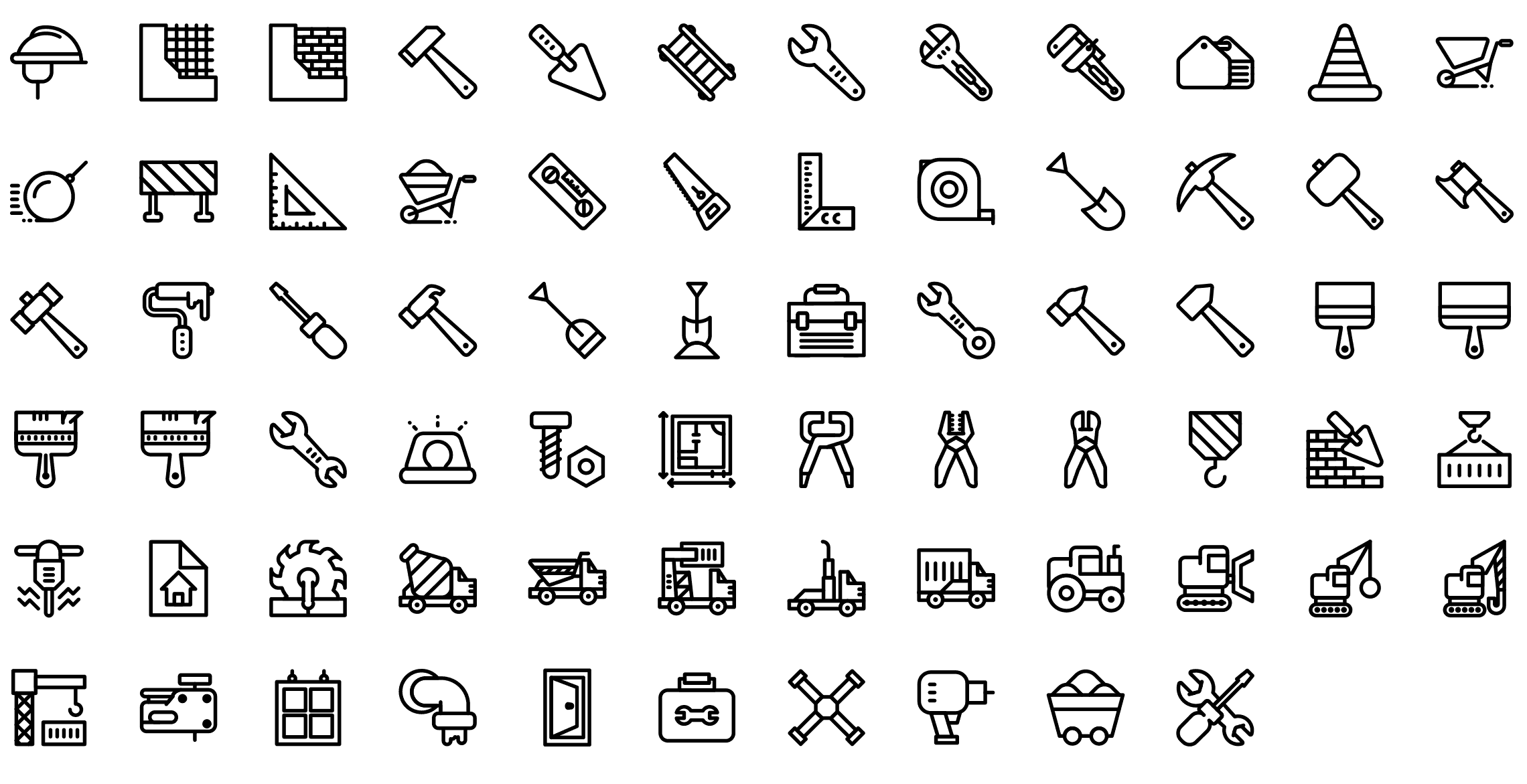 Construction icons png » PNG Image.