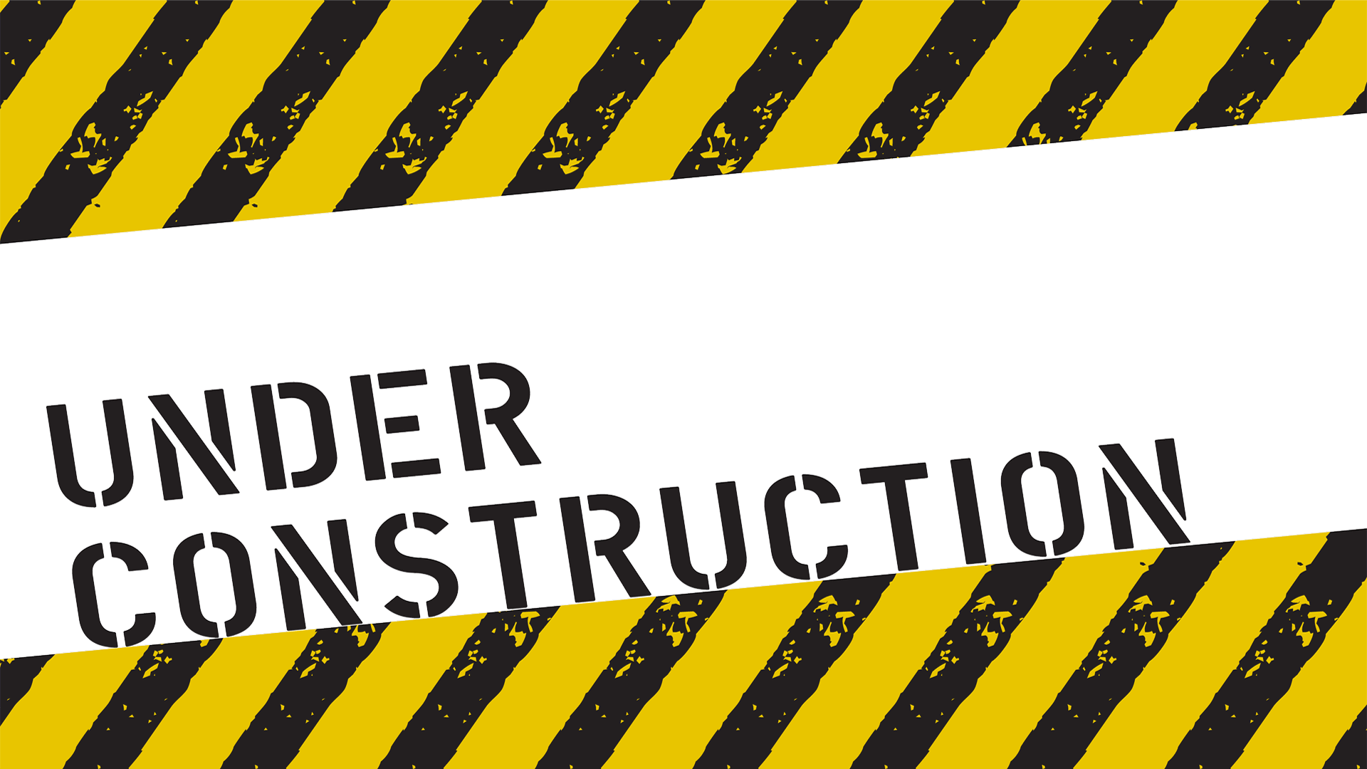 Under construction PNG images label free download.