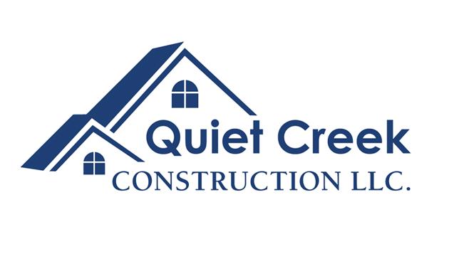Quiet Creek Construction logo.