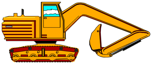 Construction Machines Clipart.