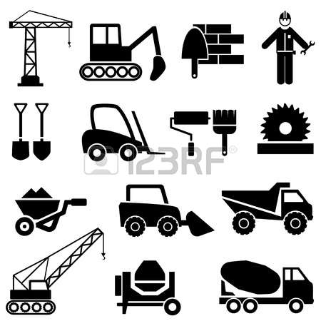 35,442 Construction Machinery Stock Vector Illustration And.