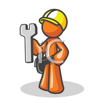 Construction Man Clip Art.