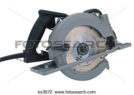 Stock Photo of Tool Chest, Circular Saw, Construction, Industry.