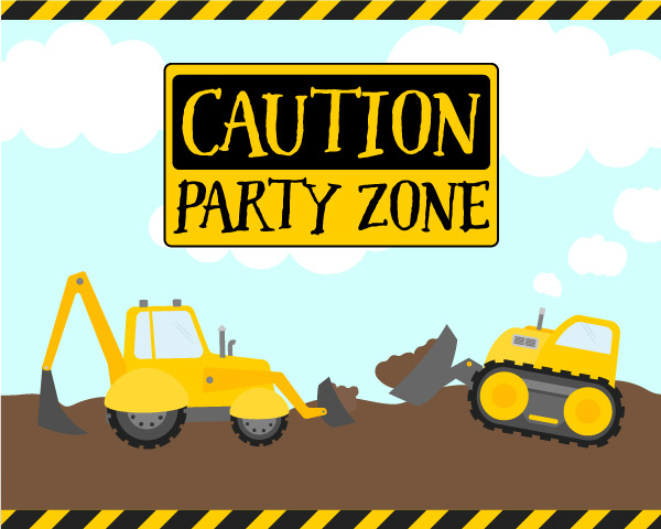 How To Plan The Ultimate Construction Party For Kids.
