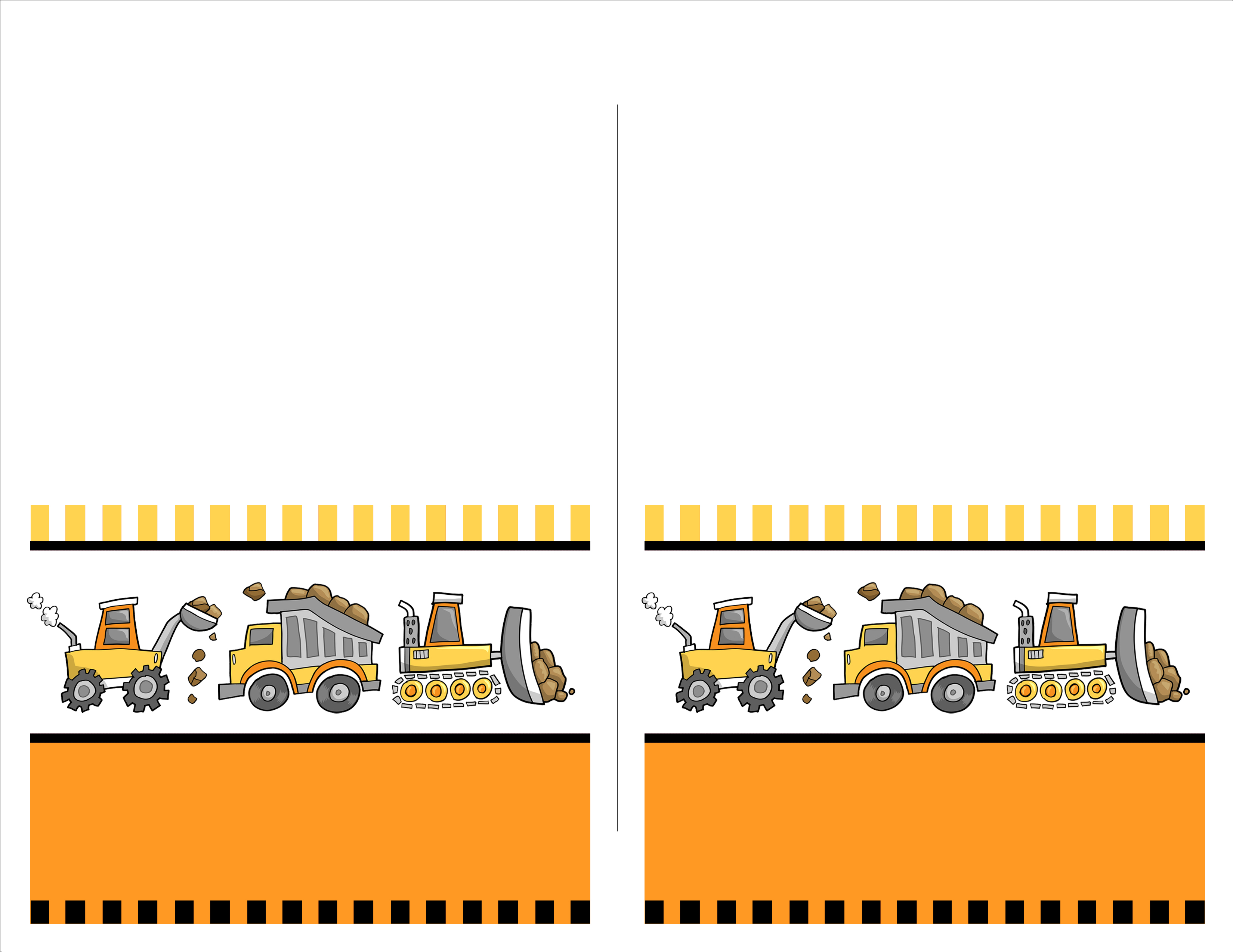 Construction Birthday Party with FREE Printables.