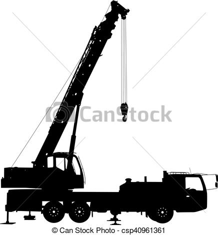 Clip Art Vector of Electrician, making repairs at a power pole.