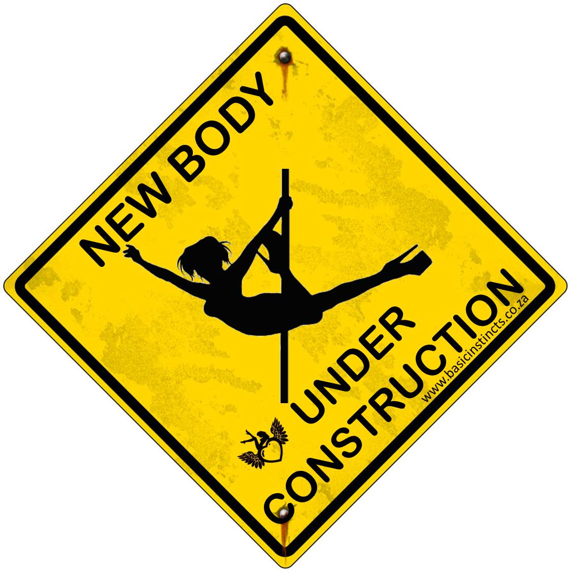 New body currently under construction clipart.