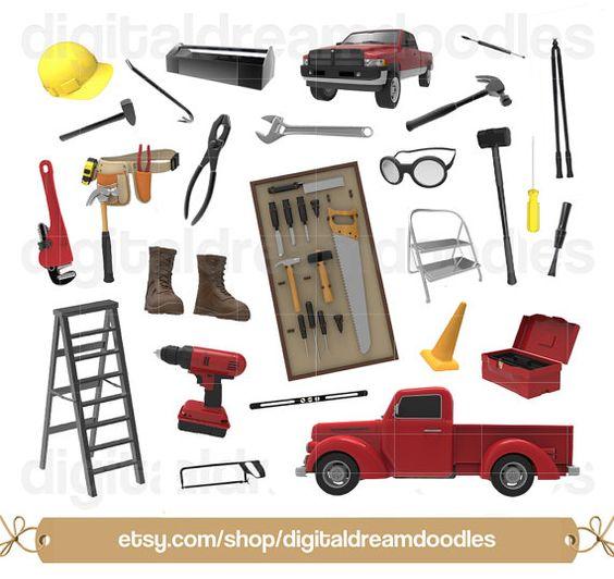 Clipart, Tool Clip Art, Construction Clip Art Tool Belt, Wrench.