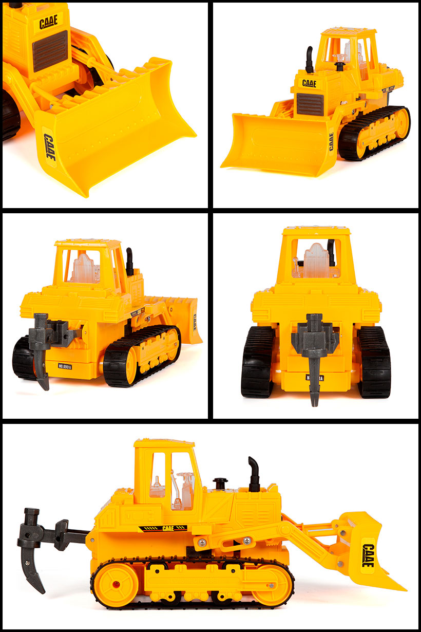 CAAE Tracked Bulldozer 1:45 RTR RC Construction Truck.