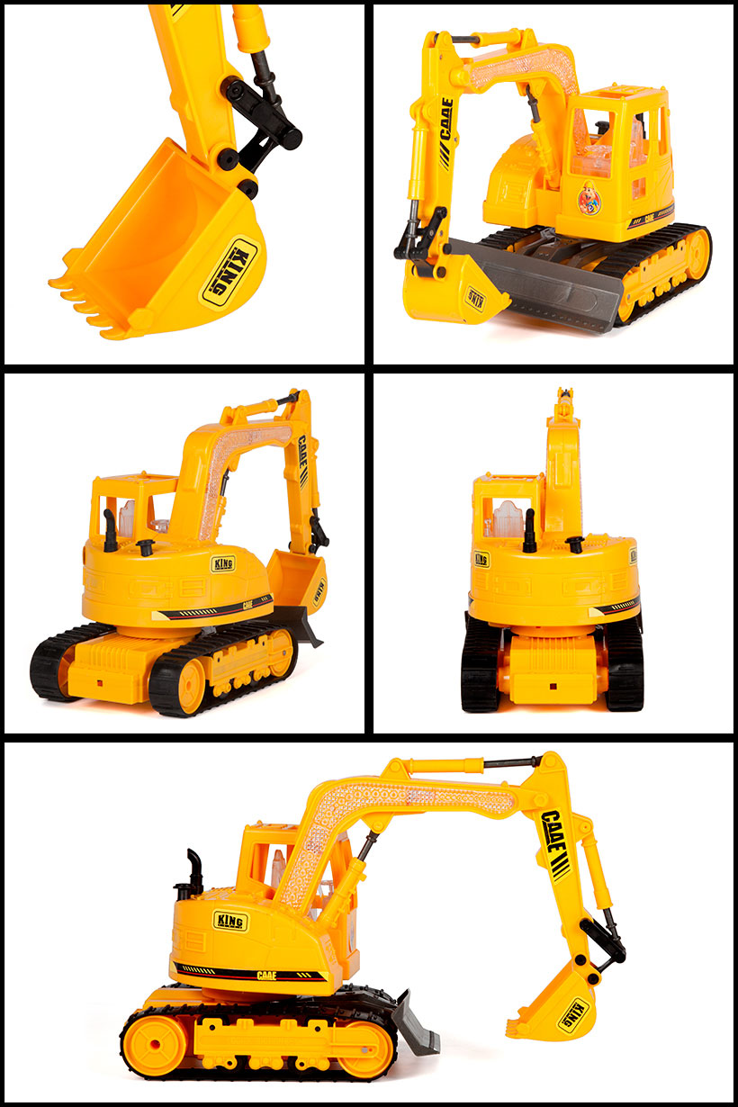 CAAE Tracked Hydraulic Excavator 1:45 7CH RTR RC Construction Truck.