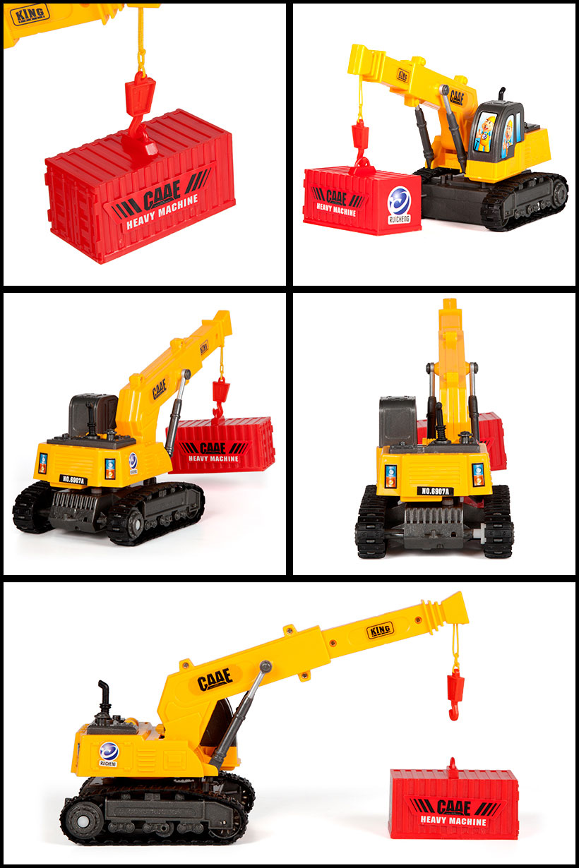 CAAE Tracked Lifter with Cargo 1:36 RTR RC Construction Truck.