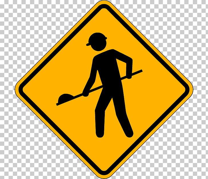 Traffic sign Road Warning sign Pedestrian crossing.