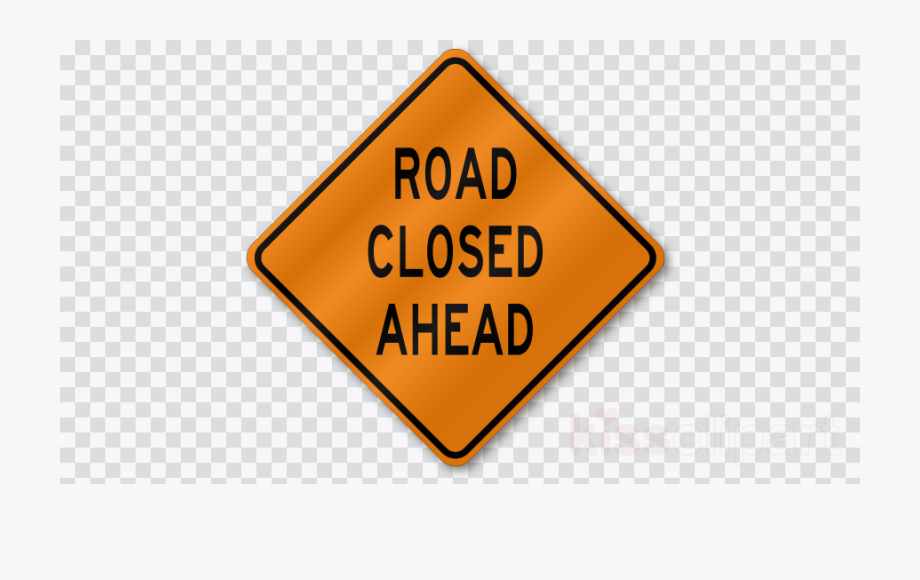 Stylish Construction Signs Clipart Charming Road Rectangle.