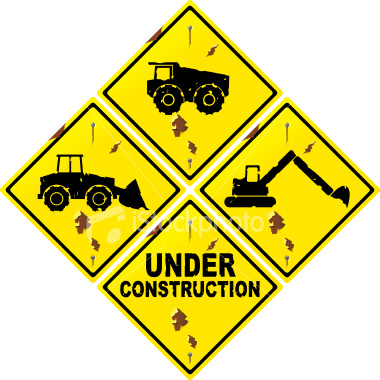 Construction Signs Clipart.