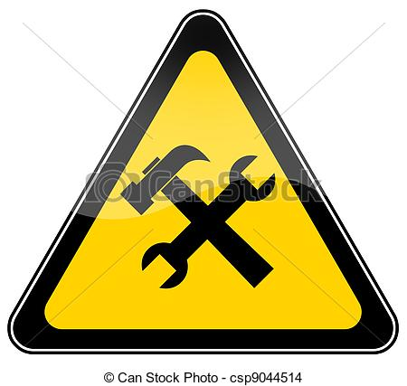 Construction Sign Clipart.