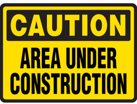 Under Construction Signs Clipart.