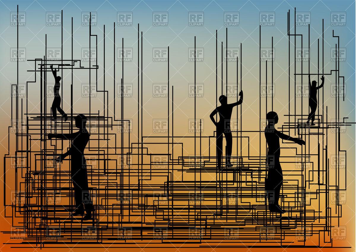 Construction background.