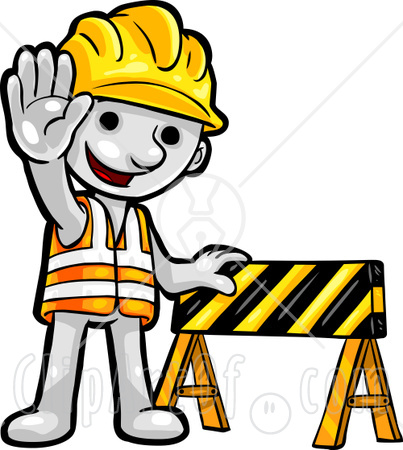 Free Clip Art Construction Site.