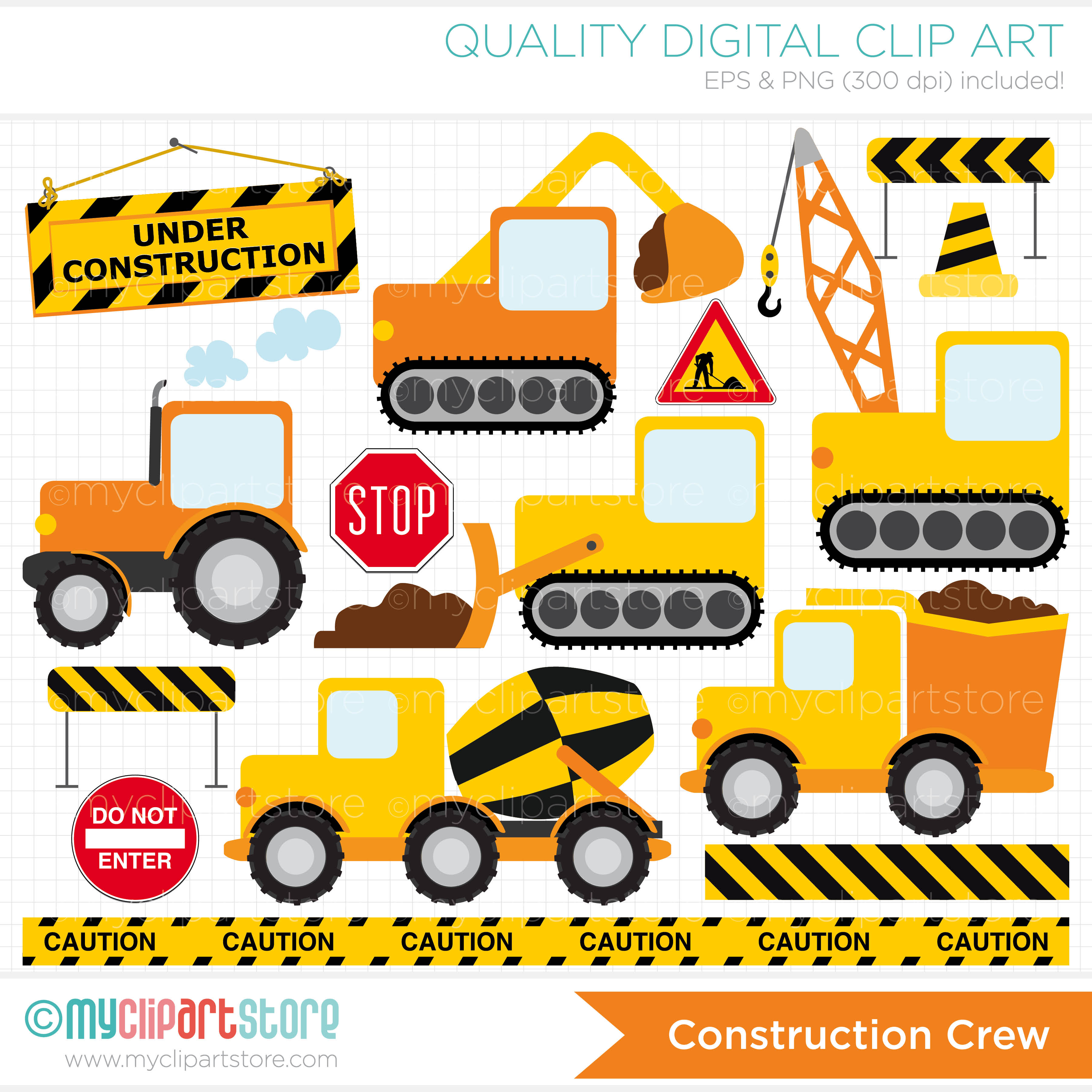 Construction clip art pictures free.