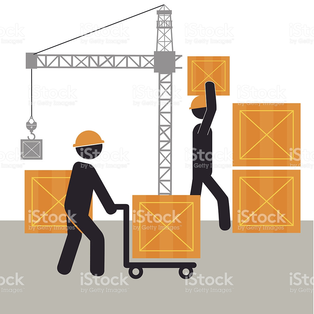 Construction Design stock vector art 506845217.