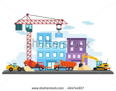 Construction Site Stock Vectors, Images & Vector Art.