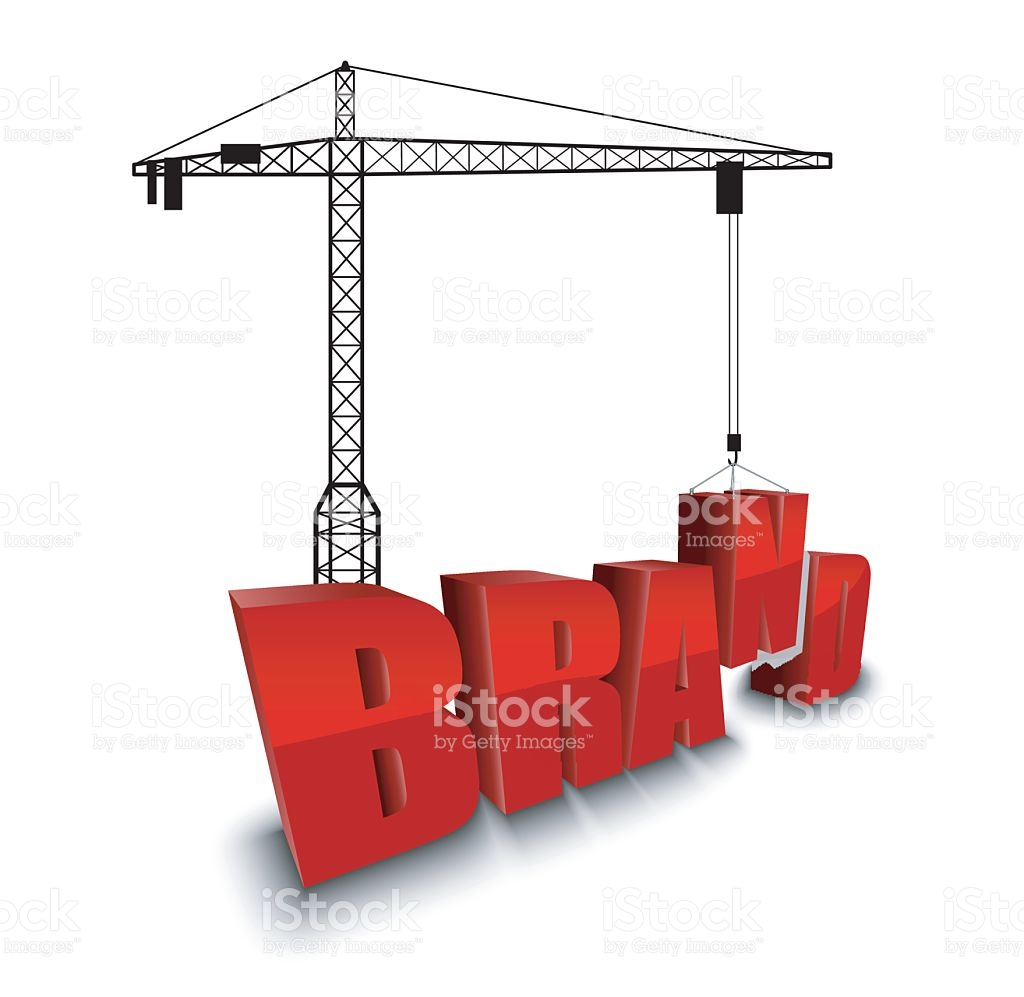Construction Site Crane Building Background stock vector art.