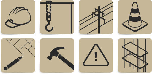 Construction Symbols Clipart.