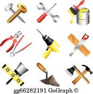 Construction Tools Clip Art.