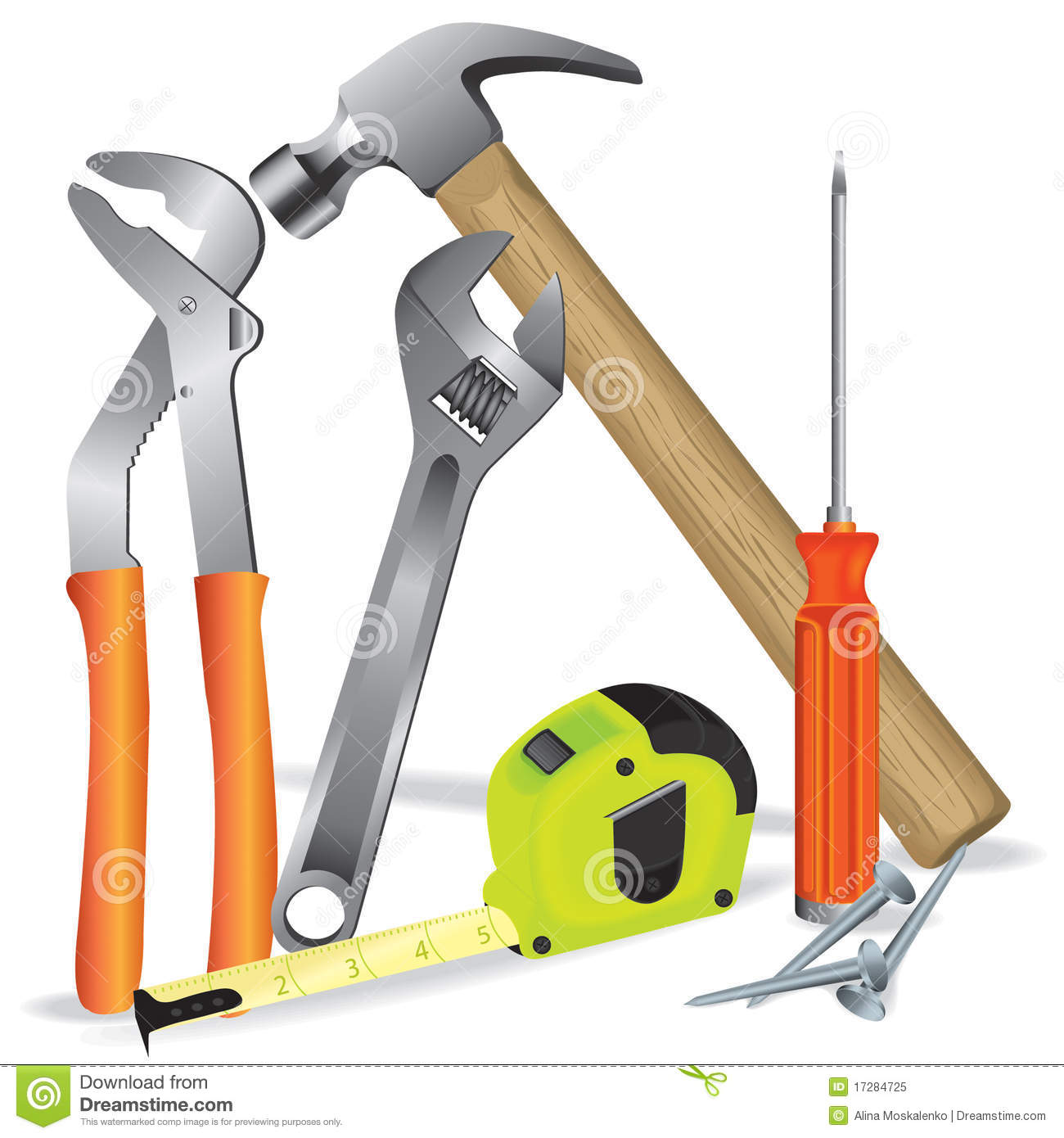Construction Tools Clip Art 101 Clip Art.