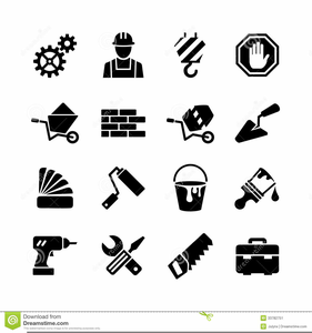 Pictures Of Construction Tools Clipart.