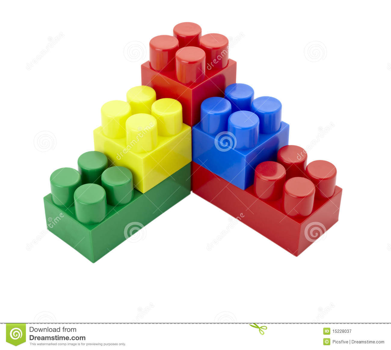 Toy Lego Block Construction Education Childhood Royalty Free Stock.