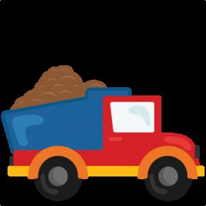 FREE} Dump truck cut file.