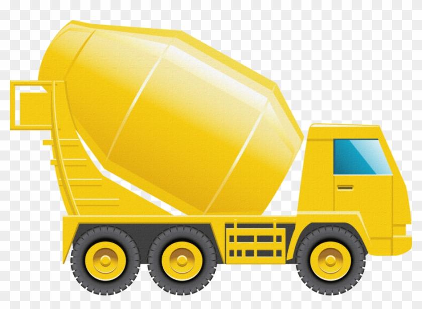 Download Free png Concrete Mixer Truck Vector Png Clipart.